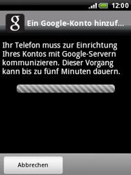 HTC Wildfire - Apps - Konto anlegen und einrichten - 3 / 3