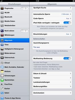 Apple iPad 4 - Fehlerbehebung - Handy zurücksetzen - 6 / 10