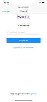 Apple iPhone XS Max - E-mail - handmatig instellen (yahoo) - Stap 6