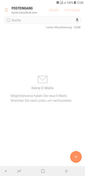 Samsung Galaxy J4+ - E-Mail - Konto einrichten (outlook) - 12 / 14
