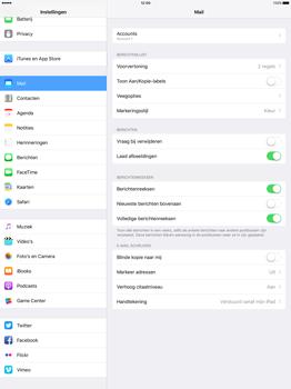 Apple iPad Pro 12.9 inch (Model A1671) - E-mail - Handmatig instellen - Stap 16