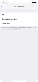 Apple iphone-xs-model-A1920 - Bellen - 4G Bellen activeren - Stap 6