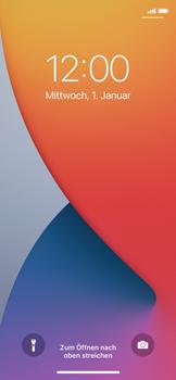 Apple iPhone 11 Pro - iOS 14 - Gerät - Einen Soft-Reset durchführen - Schritt 4