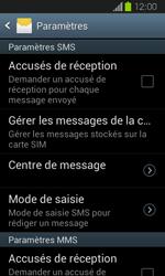 Samsung I8730 Galaxy Express - SMS - Configuration manuelle - Étape 6