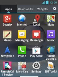 LG E430 Optimus L3 II - MMS - Manual configuration - Step 3