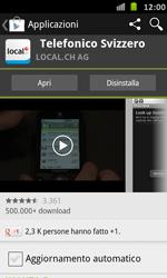 Samsung Galaxy S Advance - Applicazioni - Installazione delle applicazioni - Fase 10