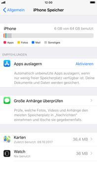 Apple iPhone 8 Plus - Apps - Automatisches Entfernen nicht genutzter Apps aktivieren - 5 / 6