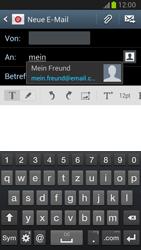 Samsung N7100 Galaxy Note 2 - E-Mail - E-Mail versenden - Schritt 6