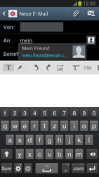 Samsung Galaxy Note 2 - E-Mail - E-Mail versenden - 6 / 17