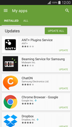 Samsung Galaxy S 5 - Applications - How to check for app-updates - Step 6