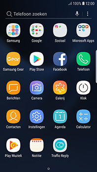 Samsung Galaxy S7 Edge - Android Oreo - E-mail - handmatig instellen (gmail) - Stap 3