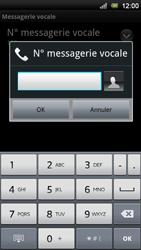 Sony Xperia Neo V - Messagerie vocale - Configuration manuelle - Étape 7
