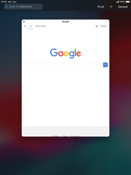 Apple iPad 9.7 (2018) iOS12 - Internet - internetten - Stap 11
