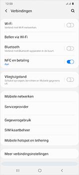 Samsung Galaxy S20 Ultra 5G Dual SIM eSIM SM-G988B - WiFi - Mobiele hotspot instellen - Stap 5