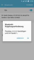 Samsung Galaxy J5 (2016) - Bluetooth - Geräte koppeln - 9 / 11