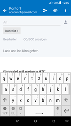 HTC One M9 - E-Mail - E-Mail versenden - 2 / 2