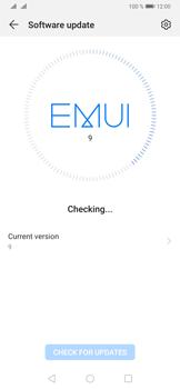 Huawei P30 - Software - Installing software updates - Step 5