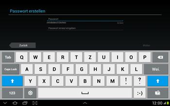 Samsung Galaxy Tab 2 10.1 - Apps - Einrichten des App Stores - Schritt 8