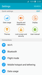 Samsung Galaxy S6 - Internet and data roaming - Manual configuration - Step 4