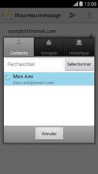 Bouygues Telecom Ultym 5 II - E-mails - Envoyer un e-mail - Étape 7