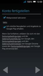 Alcatel Pop C7 - Apps - Konto anlegen und einrichten - 0 / 0