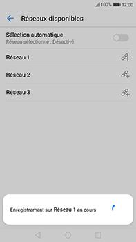 Huawei P10 Plus - Réseau - Sélection manuelle du réseau - Étape 10