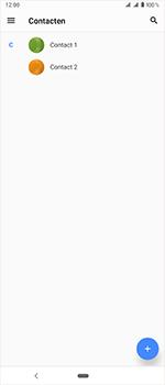 Sony Xperia 1 - Contactgegevens overzetten - delen via Bluetooth - Stap 4