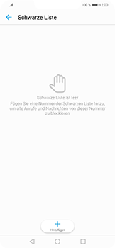 Huawei Nova 3 - Anrufe - Anrufe blockieren - Schritt 7