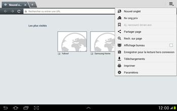 Samsung Galaxy Tab 2 10.1 - Internet et roaming de données - Configuration manuelle - Étape 20