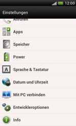 HTC Desire X - Software - Installieren von Software-Updates - Schritt 5