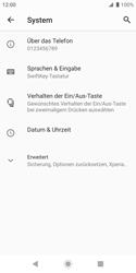 Sony Xperia XZ2 Compact - Android Pie - Fehlerbehebung - Handy zurücksetzen - Schritt 7