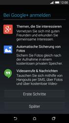 HTC Desire 620 - Apps - Konto anlegen und einrichten - 20 / 23