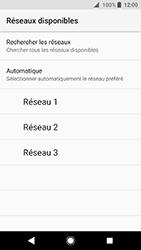 Sony Xperia XA2 - Réseau - Sélection manuelle du réseau - Étape 9