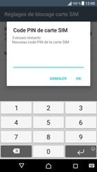 Sony Xperia X - Sécuriser votre mobile - Personnaliser le code PIN de votre carte SIM - Étape 8