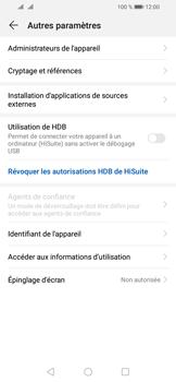 Huawei Y6 (2019) - Sécurité - modifier SIM PIN - Étape 5