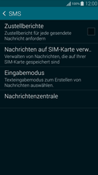 Samsung G850F Galaxy Alpha - SMS - Manuelle Konfiguration - Schritt 7