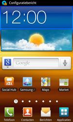 Samsung I9070 Galaxy S Advance - MMS - automatisch instellen - Stap 5