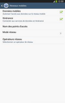 Samsung Galaxy Tab 3 8-0 LTE - Internet et roaming de données - Désactivation du roaming de données - Étape 6