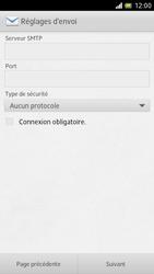 Sony LT28h Xperia ion - E-mail - Configuration manuelle - Étape 12