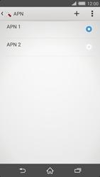 Sony Xperia Z2 - Internet e roaming dati - Configurazione manuale - Fase 16