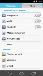 Huawei Ascend P7 - wifi - handmatig instellen - stap 4