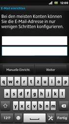 Sony Xperia U - E-Mail - Konto einrichten - Schritt 6