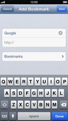 Apple iPhone 5 - Internet - Internet browsing - Step 5