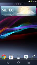 Sony Xperia Z1 - Prise en main - Installation de widgets et d