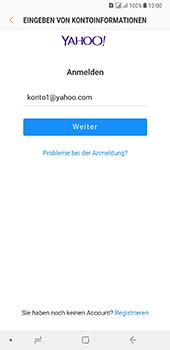 Samsung Galaxy A8 Plus (2018) - E-Mail - Konto einrichten (yahoo) - Schritt 8