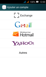 Huawei Y3 - E-mail - Configuration manuelle (outlook) - Étape 5
