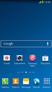 Samsung Galaxy Note III LTE - Operazioni iniziali - Installazione di widget e applicazioni nella schermata iniziale - Fase 2