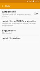 Samsung J500F Galaxy J5 - SMS - Manuelle Konfiguration - Schritt 9