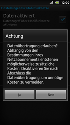 Sony Xperia U - Internet - Apn-Einstellungen - 7 / 23
