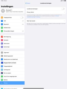 Apple ipad-pro-12-9-inch-2018-Model A1895-ipados-13 - Beveiliging en ouderlijk toezicht - Zoek mijn iPad inschakelen - Stap 5